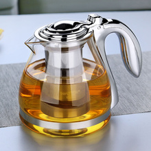 Buy 1100ml Coffee puer tea Maker oolong tea infuser Glass Kettle Glass green Tea Pot Filter Strainer Espresso Coffee Kitchen for $32.68 in AliExpress store