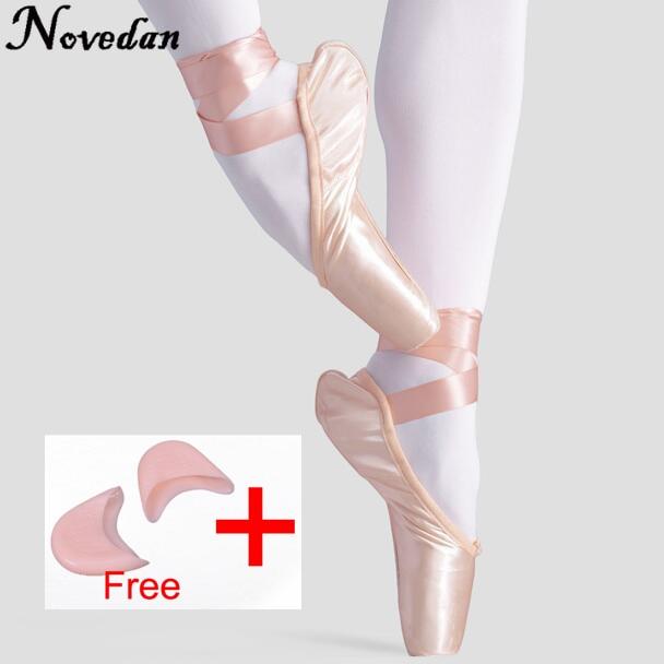 Stretch Pointe shoe ribbon /& elastic Sewing Kit /& Gel Toe Pads!