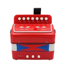 2017 Small Accordion Kids Children Student Music Instrument Toy Gift 7 Keys 2 Bass