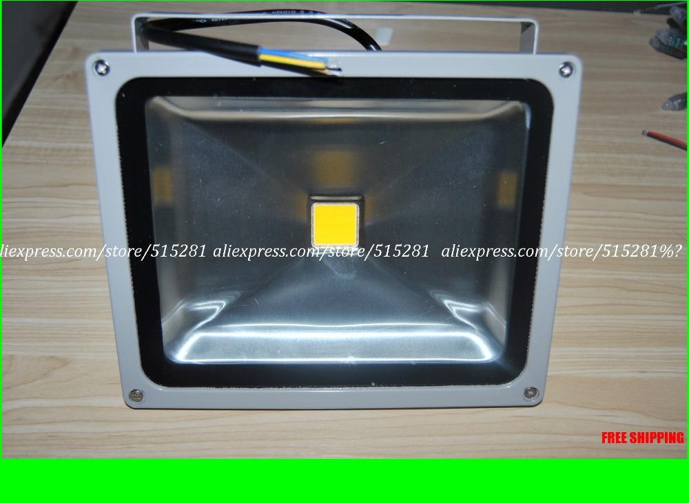 Led Floodlight IP65 AC85-277v 30w/50w High Strength Aluminum Warm White/White  Outdoor Floodlight  <br>