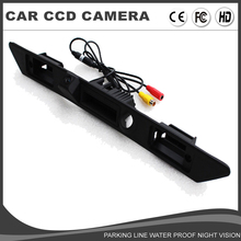 CCD Car Trunk Handle Rear View backup Camera for For AUDI A3 A4 A4L A6L A8 A8L Q7 Parking assist Revers Guide Line Night Vision