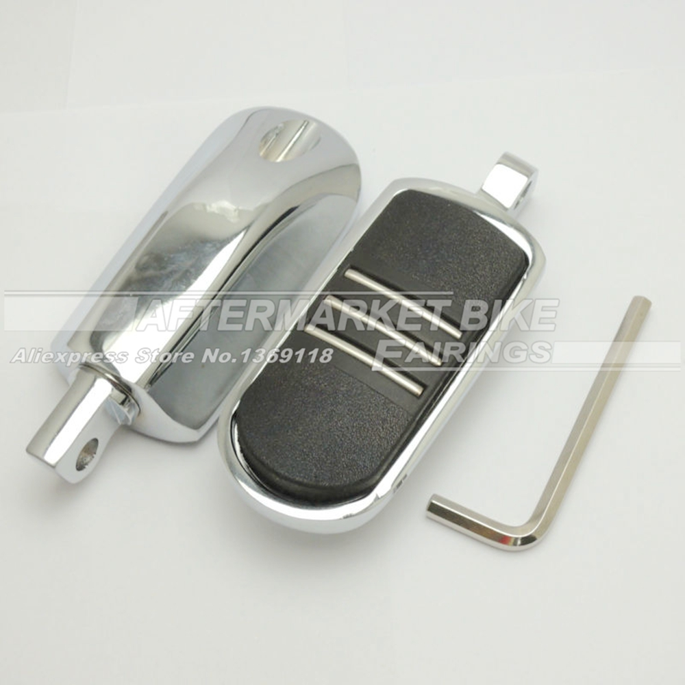 StreamLiner Styled Foot peg For Harley Dyna &amp; Heritage Softail &amp; Iron 883 &amp; Sportster 883 /1200<br>