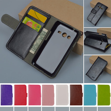 Flip PU Leather Hard Case For Samsung Galaxy Ace 4 Lite G313 G313H SM-G313H Ace 4 Neo G318H SM-G318H cover With Card Holder
