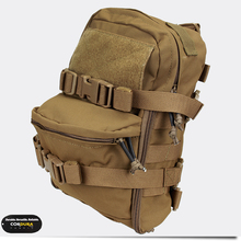 TMC Mini Hydration Bag Carrier Molle Backpack Paintball Airsoft Combat Gear Multicam Coyote Brown(China)