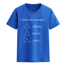 New 2017 summer Name The Triangles letter child T-shirts crossfit brand clothing t shirt harajuku tops baby clothes for children(China)