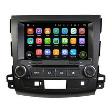 8 Inch Quad Core HD 1024*600 Android 5.1 Car DVD For Mitsubishi For OUTLANDER 2006-2012 MP3 Flash Radio Car Multimedia Player(China)