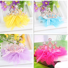 Hot Sale!! High Quality Baby Girls Tiaras Kids Accessories Rhinestone Lovely Princess Crown Hairpin Children Accesseries