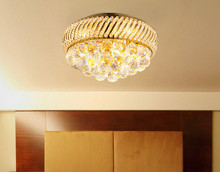 luxury crystal Ceiling lamp Bed room Ceiling Lights Crystal Ball k9 crystal Modern Ceiling lights 25 CM (9.8 Inch) Diameter