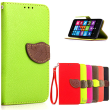 Luxury Case For Microsoft Lumia 535 Leather Flip Wallet Cover Case For Microsoft nokia Lumia 535 phone case with Card Holder cas