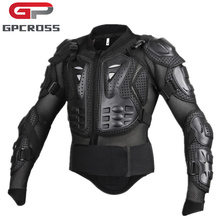 GPCROSS Motorcycles Armor Protection Motocross Clothing Jacket Moto Cross Back Armor Protector Protection Jackets Black RED(China)
