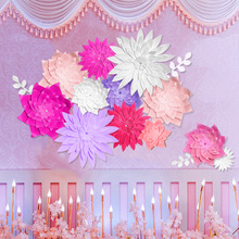 Buy Paper Flowers Wall Decor And Get Free Shipping On Aliexpress Com