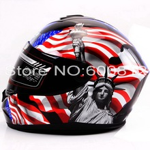 2016 New Eternal YOHE Full Face motorcycle helmet winter seasons ABS Motorcycle Racing helmets YH966 14 colors size M L XL XXL