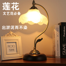 Fashion table lamp bedroom bedside lamp american dimming modern brief fashion touch bedside lighting(China)