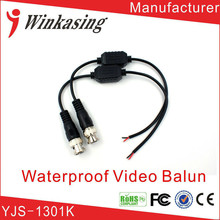 Single Channel Waterproof CCTV Video Balun UTP video Transceiver(China)