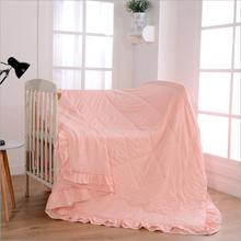 Bed Quilt Air/Sofa/Bedding Blanket For Bed Throws Simple Washed Cotton Summer Bed Quilts(China)