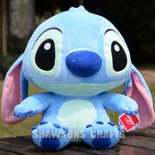 "LILO & STITCH PLUSH STUFFED TOYS 9"" STITCH SOFT DOLL ORIGINAL"