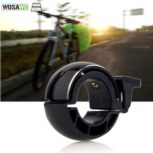 WOSAWE Bicycle Bell Aluminium Alloy Invisible Cycling Handlebar Alarm Loud Horn Road Bike Environmental Safe Accessories