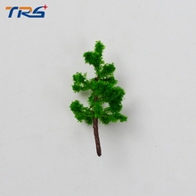 3.2CM DIY sand table model building materials tree green wire model tree A landscape tree model specifications(China)