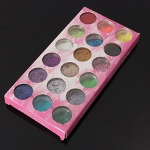 18 Pcs Nail Art Glitter Powder Dust UV Gel Acrylic Powder 3D Decoration For Women Beauty Manicure Tools Tips Hot Selling(China)