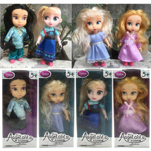 Wholesale 4pcs/set New Sharon Dolls Princess dolls  Elsa Rapunzel Cinderella  fashion dolls for girls Baby Toys