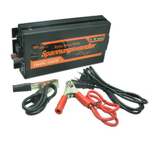 10A Charger + 1000W 12v to 220v Pure Sine Wave Inverter with UPS function