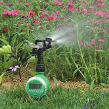 Family Garden Irrigation Automatic Electronic Water Timer Garden Watering 12x12x9.5cm Automatic intelligent design easy operate(China)