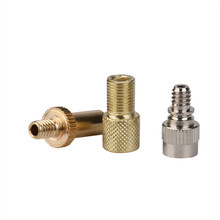 Tyre Valve Adaptors Tube Schrader Presta Woods Adaptor Valve For Air Cycle Pump Bicycle Bike Car Tire Valve Adapter(China)