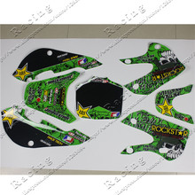 3M Decals Stickers Graphics For 02-08 KLX110 KX65 DRZ110 pit dirt Bike Motocross 3(China)