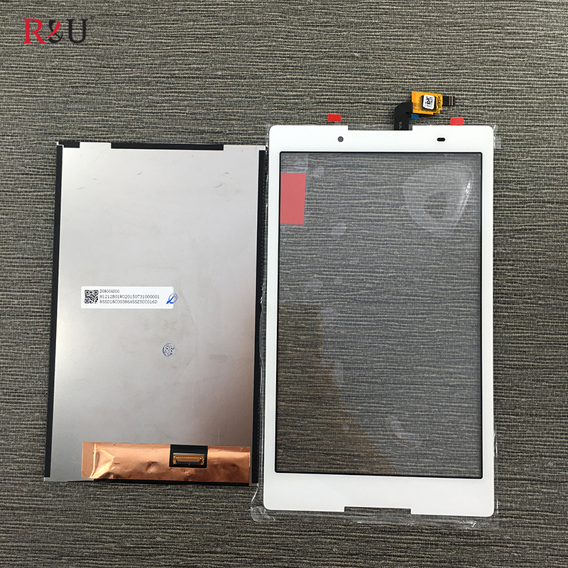 R&amp;U 8 LCD Display + Touch screen Panel assembly Replacement for Lenovo Tab 3 TAB3 8.0 850 850F 850M TB3-850M TB-850M Tab3-850<br>