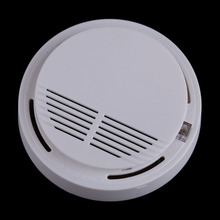 High Sensitive Photoelectric Wireless Smoke Fire Detector Alarm System Home Security Safety Garden smokehouse Alarm Detector(China)