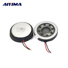 AIYIMA 2pcs The Original 20 Big Band Vibration With Vibration Ringer 20 Speaker Ringer Speaker Diameter 2cm Vibration Speaker