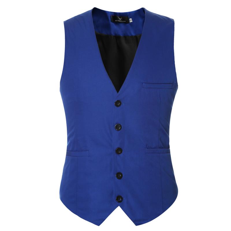 4 mens wedding waistcoats 2016 famous brand suit vest sleeveless fitness leisure dress vests for men