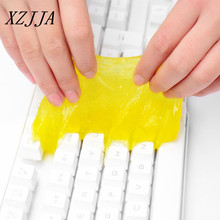 XZJJA High Quality Crystal Magical Innovative Super Dust Clean Keyboard Cleaning Compound Gel Universal High Tech Random Color(China)