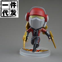 NEW hot 8cm SKT The Master of Shadows Zed action figure toys collection doll Christmas gift no box