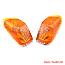 For KAWASAKI ZZR 400 1990-1992 Motorcycle Front Turn signal Blinker Lens Motorcycle Accessories Parts