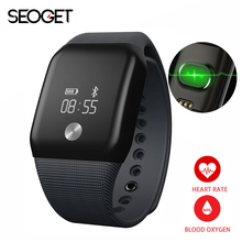 Seoget Smart watch Heart rate monitor smart wristband fitness tracker smart bracelet band for IOS Android smartwatch