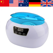 600ml Digital Ultrasonic Cleaner Multi Purpose Jewellery Watch Cleaner Blue Wave Clean Cleaning Machine Tool