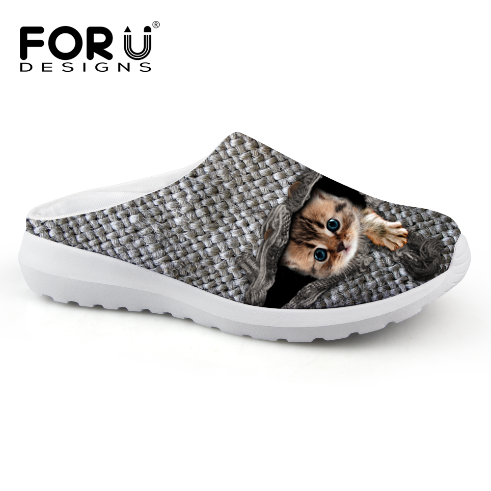 FORUDESIGNS 2017 New Arrival Womens Sandals Summer Slip on Shoes Breathable Comfot Female Beach Water Footwear Ladies Slippers<br>