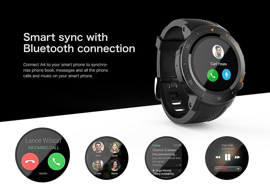 COLMI Flagship 4G Smart watch Android 7.1 OS MTK6739 1GB+16GB 400400 Display 530MAH IP67 waterproof GPS Men Smartwatch 3