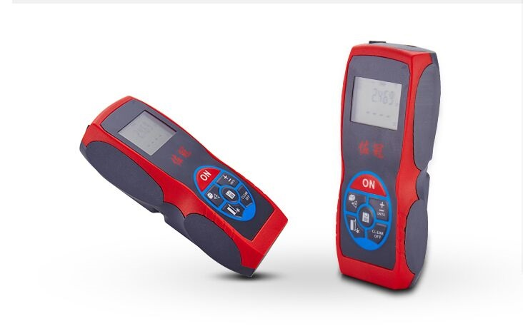40 m laser rangefinder: hand-held infrared measuring instrument (red, not including the battery)   lzx<br><br>Aliexpress