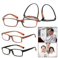 Unisex Ultra-light Resin Framed Reading Glasses Soft Stretch Clear Eyeglass Presbyopia 1.0 1.5 2.0 2.5 3.0 3.5 Diopter Glasses