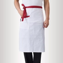 Hotel Restaurant Cafe Waiter Waitress Chef Cooking Apron Men Women Kitchen Apron Househould Oil-Proof Waist Aprons(China)