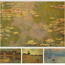 Pictures Decorated Bedrooms Cheap Small Picture The Poster Wall Claude Monet Water Lilies And Agapanthus