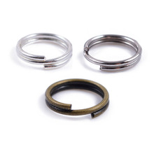 Buy 200pcs 8mm Silver Color Split Double Loops Open Jump Rings Jewelry Findings DIY Bracelet Necklace Connector Key chains for $1.10 in AliExpress store