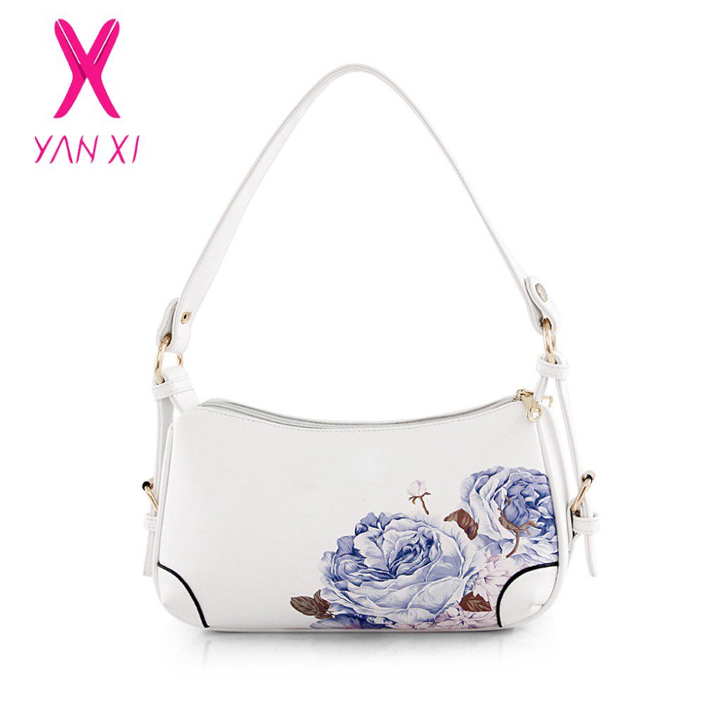 YANXI HOT Sale High quality Luxury Handbags Fashion Chinese Style Blue and white Lady Shoulder Messenger Bag designer Woman Bag<br><br>Aliexpress