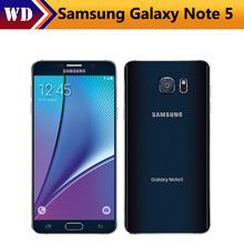 Samsung Galaxy Note 5 N920A LTE Cellphones Quad Core 4GB RAM 32GB ROM 5.7 inch 1440x2560 pixels 16MP Camera NFC WIFI Smartphone