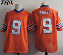 2017 New Bobby Boucher #9 The Waterboy Movie Jersey Forrest Gump 44 University of Alabama Football Jersey Al Bundy S-XXXL(China)