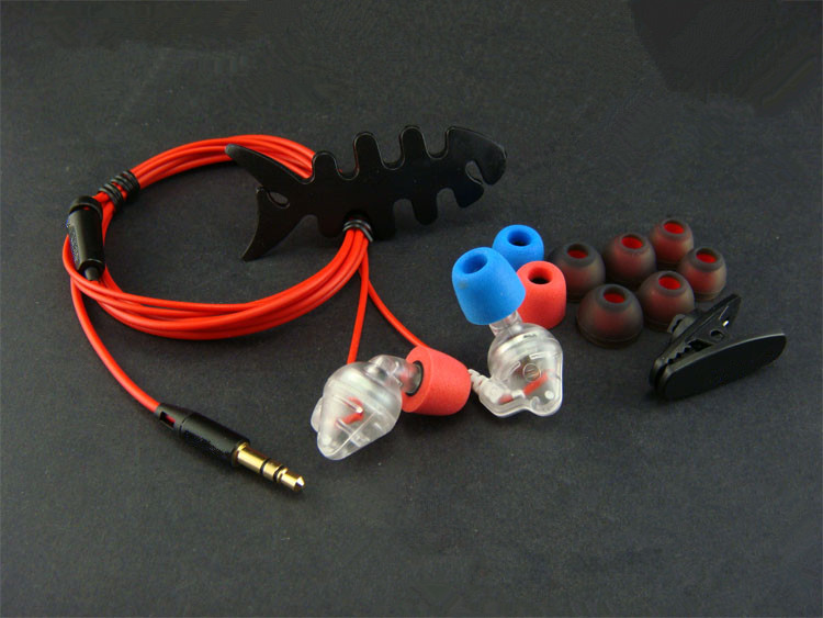 diy e2c earphone Red gum Metal diaphragm unit<br><br>Aliexpress
