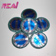 5Rolls 0.8cm*3yard Blue Color Super Quality Hair Extension Tape Double Sided Adhesive Tape for PU Skin Weft Tape Hair Extensions