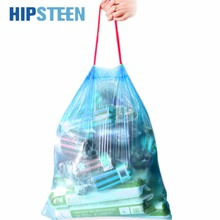 HIPSTEEN 30pcs/roll Stringing Thicken Kitchen Utensil Household Automatic Trash Can Bin Rubbish Garbage Plastic Bag